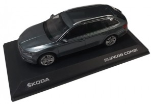 Model Superb III Combi 1:43 Metal Grey